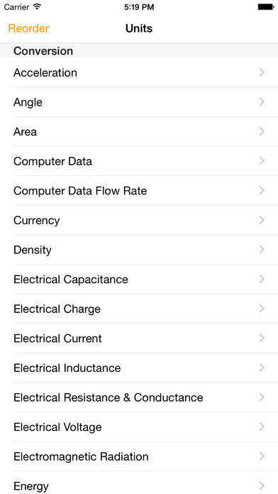 Units iPhone Screenshot 2