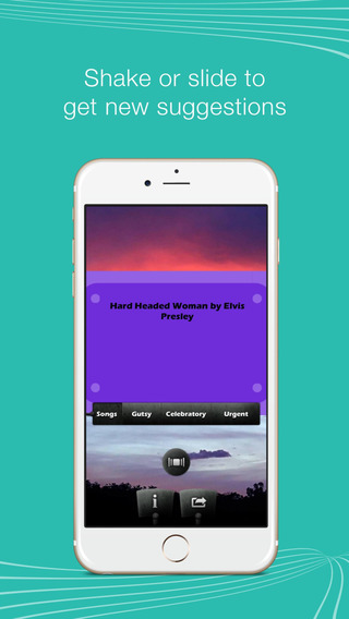 Exciting Song Suggestor – Shake for the perfect song