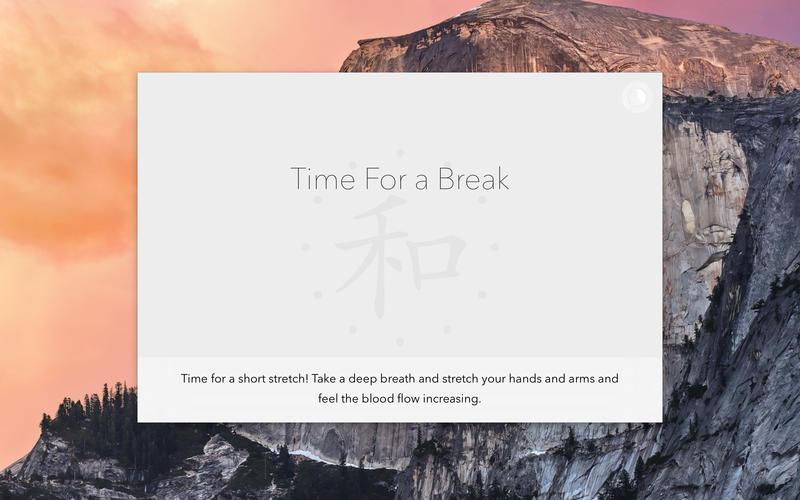 Break Reminder for Mac