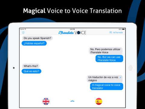 iTranslate Voice - translator & dictionary 实时语音翻译[iOS] ¥12丨反斗软件值得买
