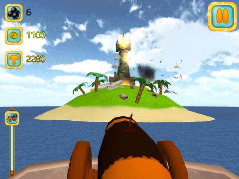 Image of Pirate Island Attack 3D for iPad