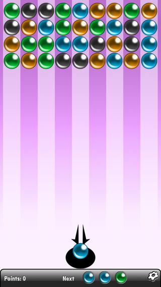Marble Rush FREE! iPhone Screenshot 1