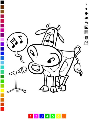 Активный! Книжка-раскраска Для Детей С Животными, Которые Поют