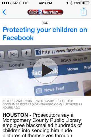 Click2Houston - KPRC 2 screenshot 4