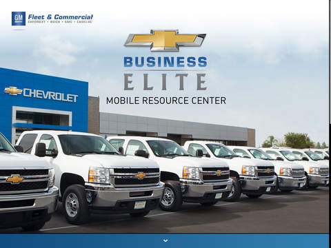 Chevrolet Business Elite Mobile Resource Center