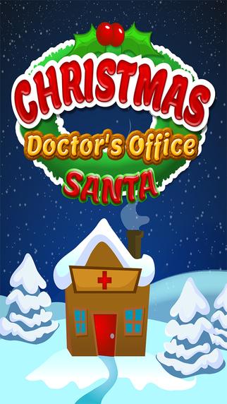 Christmas Doctor Office Hospital - Santa Winter Friends FREE
