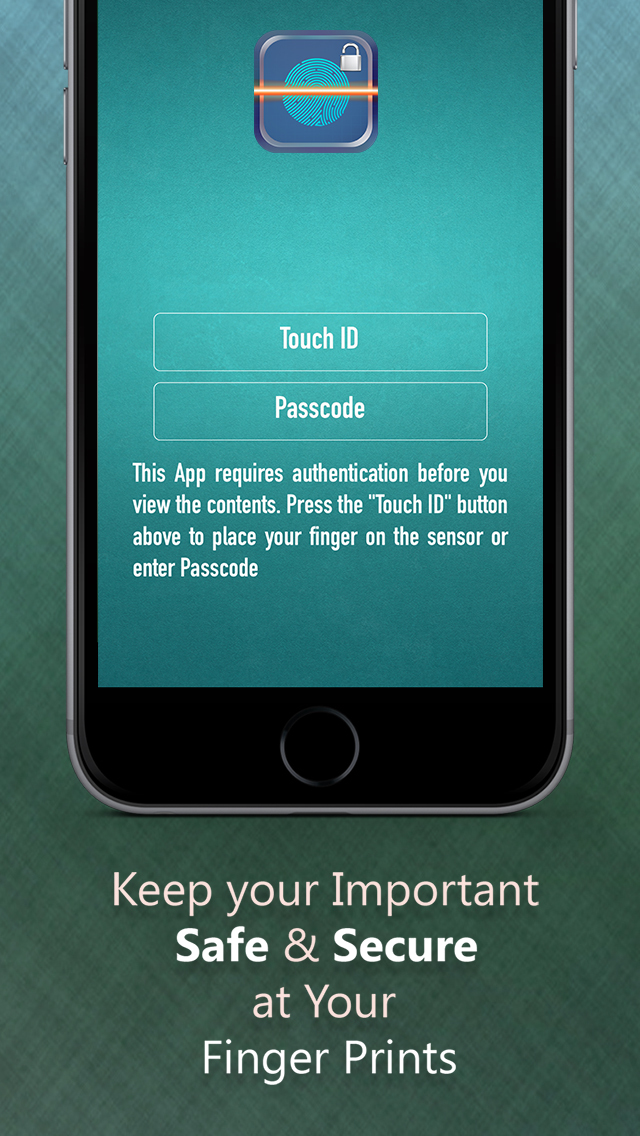 A Fingerprint Password Manager using Passcode - to Keep Safe & secure