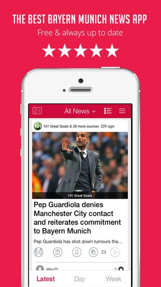 Sportfusion - Bayern Munich FC News Edition - Live Scores Transfers Rumors