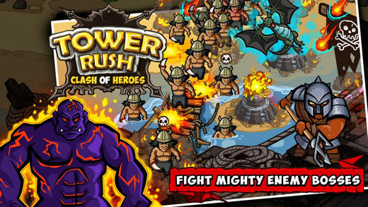 Tower rush :: Clash of heroes