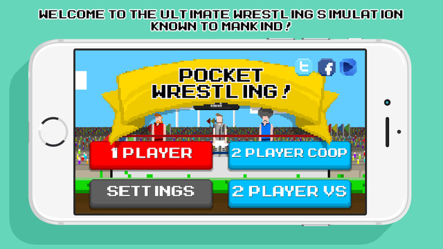 Pocket Wrestling - Physics Based Wrestling