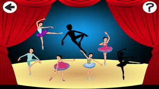 Arabesque: Shadow Game for Children to Learn and Play with Ballerina
