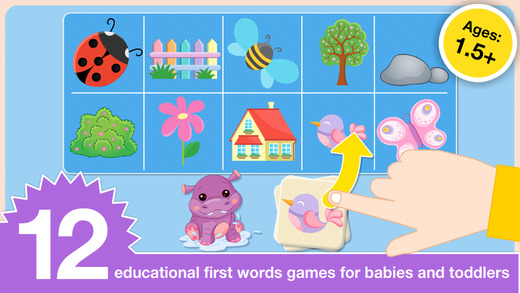 First Words Games and Flash Cards by Abby Monkey® Learning Clubhouse
