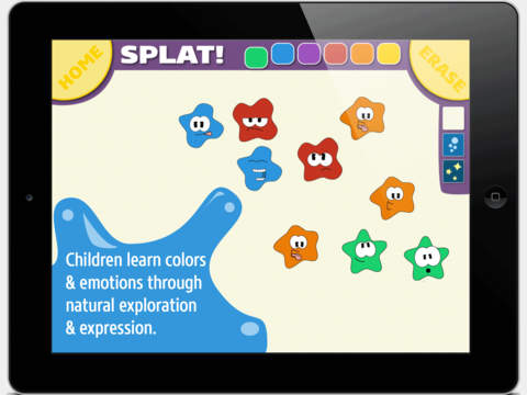 Splat - A Creative Expression Game for Toddlers