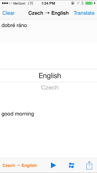 English Czech Translator with Voice