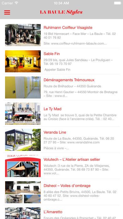 LA BAULE PLUS iPhone Screenshot 1