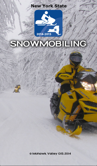 Snowmobiling New York State 2014