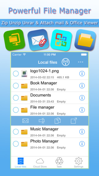iToolZip Free - Zip Unzip Unrar Tool File Manager Rar 7z Tar Gzip Zipx for Dropbox Google Drive Box