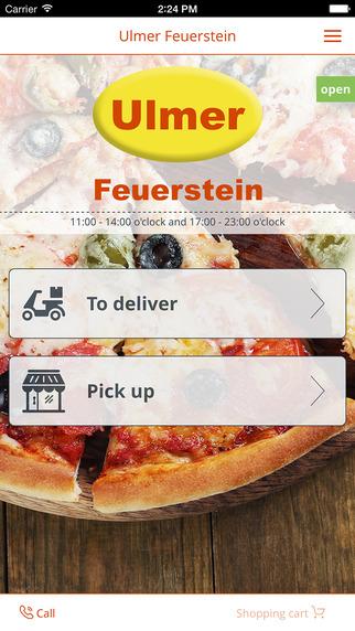 Pizza Ulmer Feuerstein