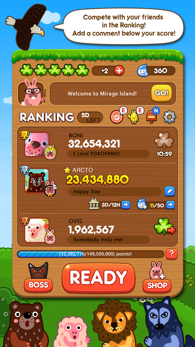 LINE Pokopang screenshot 2
