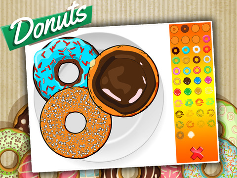 Donut Maker - Baking Game For Kids
