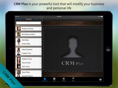 CRM Plus – Contacts Journal Professional and Personal Business Organizer