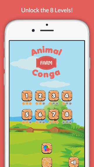 Animal Conga: Farm - Listen and repeat animal sounds in Animal Kingdom