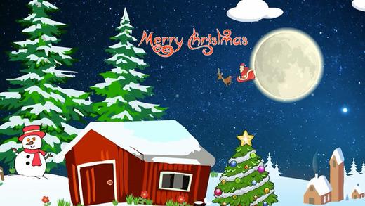 Christmas video greeting card - Santa Claus free gift