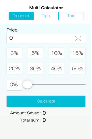 Multi Calculator: Tax, Discount, Tips screenshot 2