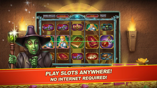 Shadow World Slots FREE - Vampires and Wirches