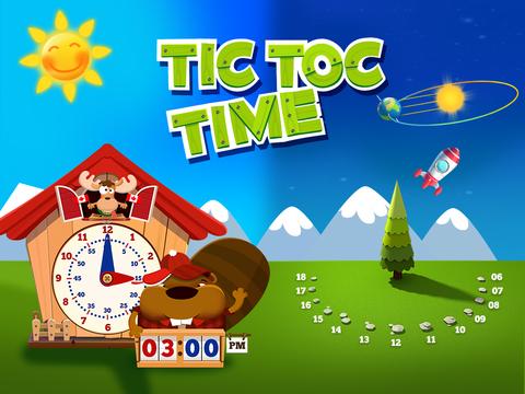Время Тик-Так: изучаем разное время дня и учимся определять и называть время