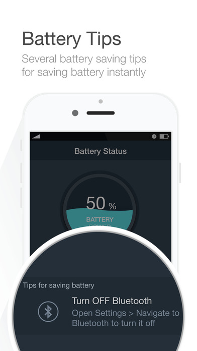 Battery Saver - Manage battery life & Check system status - screenshot