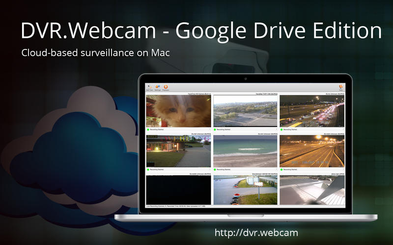 DVR.Webcam - Google Drive Edition Screenshot - 1