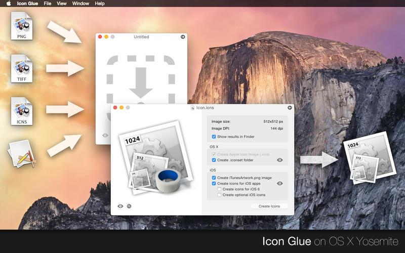Icon Glue Screenshot - 1