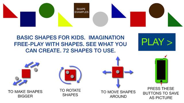 Color Shapes For Kids