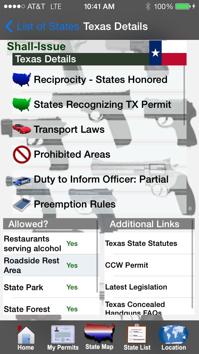 CCW – Concealed Carry 50 State Guide