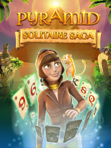 Pyramid Solitaire Saga Screenshots