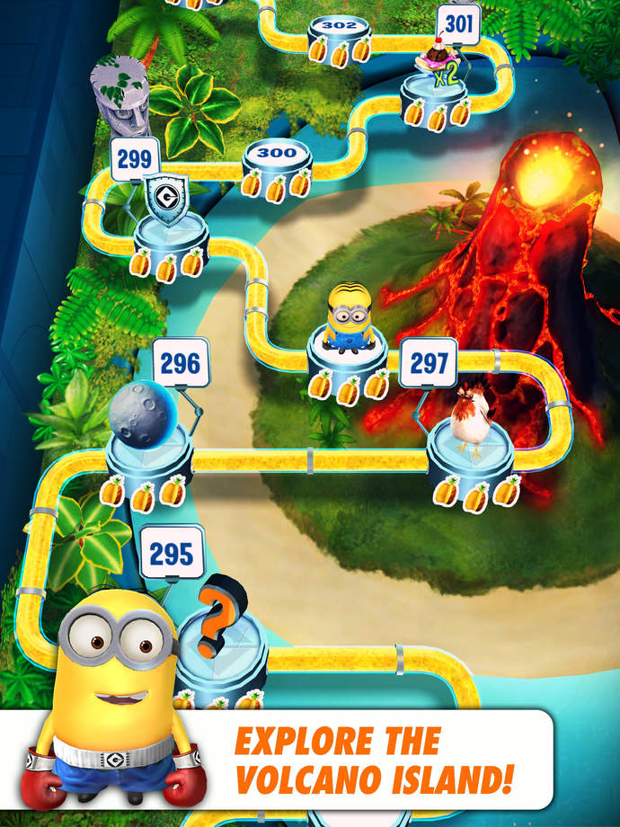 Despicable Me: Minion Rush - iPhone Mobile Analytics and App Store Data