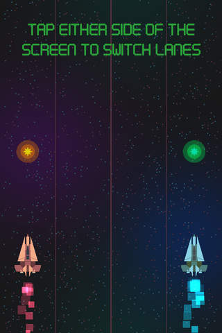 Asteroid Race - Dodge and Survive: Free and Addictive Retro Arcade Action Game screenshot 3