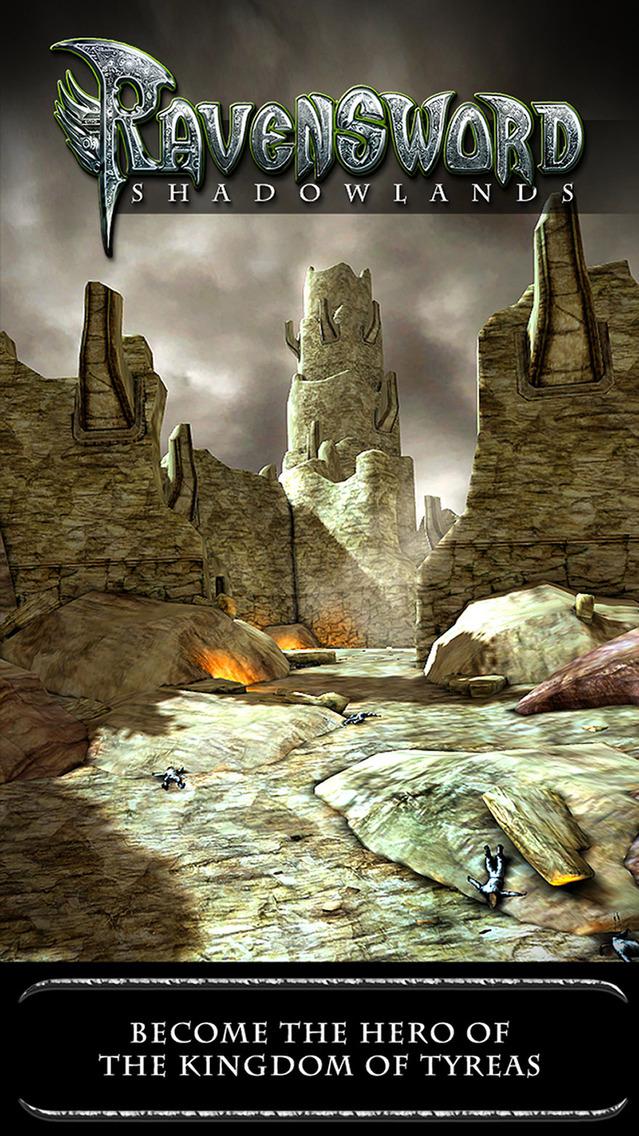 Ravensword: Shadowlands. Скрин 3