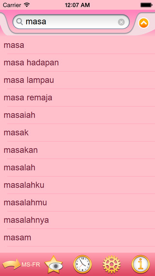 French Malay dictionary