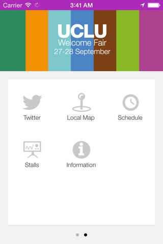UCLU Welcome Fair screenshot 1