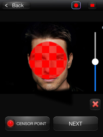 CENSOR BOOTH PRO 2 Pixelate faces Screenshots