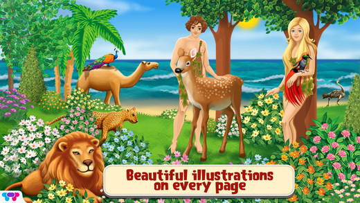 Genesis - Creation of the world : An interactive children's Bible Story Book HD
