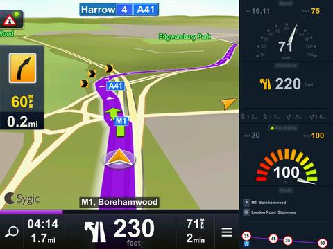 Sygic US: GPS Navigation screenshot 5