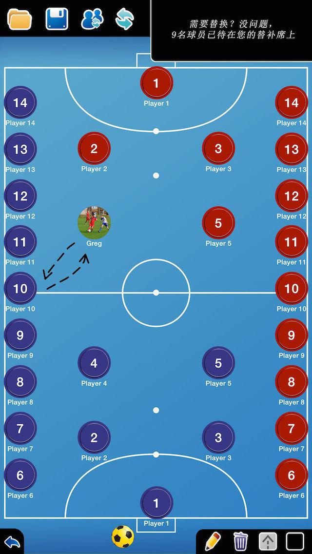 足球阵型位置名称图解