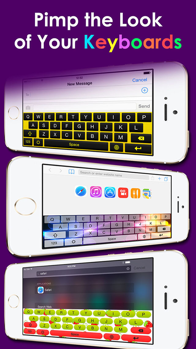 how to change your keyboard font on iphone 5s