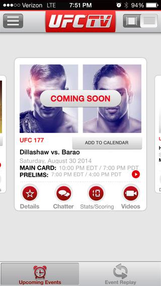 【免費運動App】UFC ®-APP點子