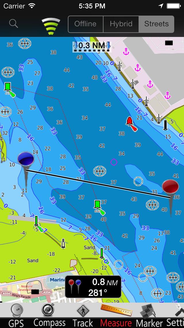 UK-Ireland-Netherlands GPS Nautical charts