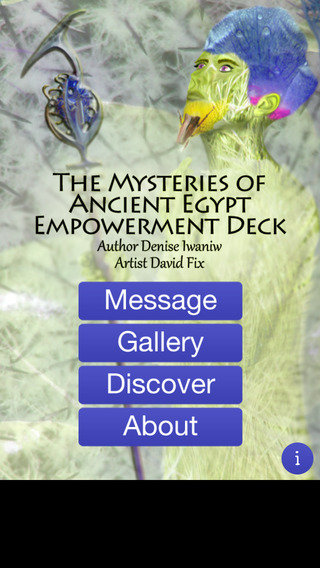 The Mysteries of Egypt Empowerment Deck