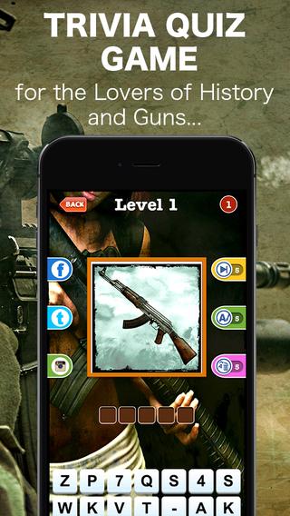 Guess The Guns - Military Firearms Trivia Quiz